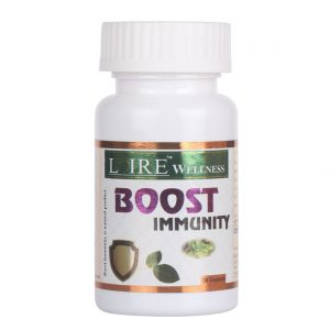 A supplement with some essential immunity boosting herbs in Ayurveda.